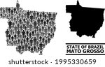 map of mato grosso state for...   Shutterstock .eps vector #1995330659