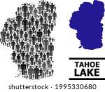 map of tahoe lake for politics...   Shutterstock .eps vector #1995330680