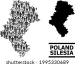 map of silesia province for...   Shutterstock .eps vector #1995330689