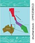 zoom in of great barrier reef...   Shutterstock .eps vector #1995358013