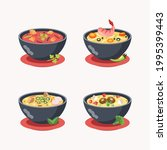 asian typical soup  thailand... | Shutterstock .eps vector #1995399443