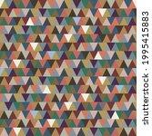 seamless triangle pattern....   Shutterstock .eps vector #1995415883