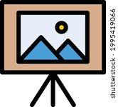 picture board vector line...   Shutterstock .eps vector #1995419066