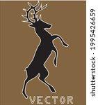 deer logo vector logo deer | Shutterstock .eps vector #1995426659