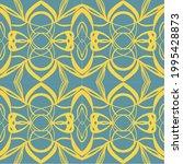 vector seamless pattern retro...   Shutterstock .eps vector #1995428873