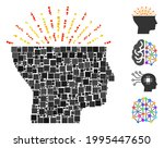 collage imagination icon...   Shutterstock .eps vector #1995447650