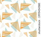summer tropical geometric...   Shutterstock .eps vector #1995454580