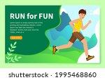 website concept of a healthy... | Shutterstock .eps vector #1995468860