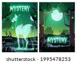 mystery or horror cartoon... | Shutterstock .eps vector #1995478253