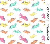 seamless pattern with... | Shutterstock .eps vector #1995491273