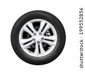 modern automotive wheel... | Shutterstock . vector #199552856