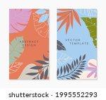 set of insta story templates... | Shutterstock .eps vector #1995552293