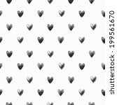 seamless hand drawn pattern... | Shutterstock . vector #199561670