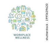 workplace wellness abstract... | Shutterstock .eps vector #1995639620