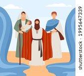 Biblical Exodus Israelites Of...