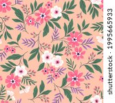 beautiful floral pattern in...   Shutterstock .eps vector #1995665933