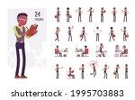 black businessman  man  formal... | Shutterstock .eps vector #1995703883