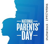 national parents  day. holiday... | Shutterstock .eps vector #1995749846