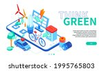 think green   modern colorful...   Shutterstock .eps vector #1995765803