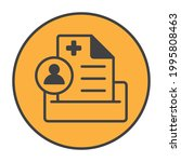 round patient medical record...   Shutterstock .eps vector #1995808463