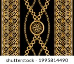seamless pattern decorated with ... | Shutterstock .eps vector #1995814490