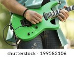 rock and roll concert | Shutterstock . vector #199582106