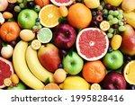 Fresh Ripe Organic Fruits From...