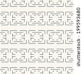 seamless pattern  stylish... | Shutterstock .eps vector #199593680