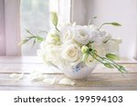 Stock photo white bouquet 199594103
