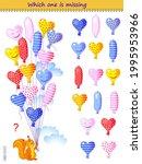logic puzzle game for children... | Shutterstock .eps vector #1995953966