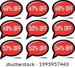 46  off  47   48  off  49   50  ... | Shutterstock .eps vector #1995957443