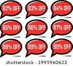 82  off  83   84   85   86   87 ... | Shutterstock .eps vector #1995960623