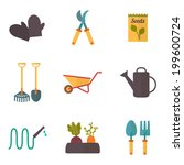 Gardening Tools  Garden Icons...