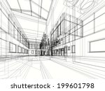 contemporary building | Shutterstock . vector #199601798