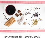 Arrangement Of  Nutmeg And...
