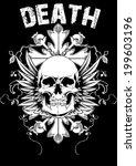 death  | Shutterstock .eps vector #199603196