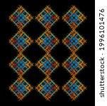 graphic design vector art on... | Shutterstock .eps vector #1996101476