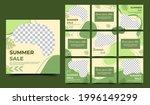 abstract green social media... | Shutterstock .eps vector #1996149299