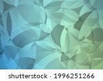 light blue  green vector... | Shutterstock .eps vector #1996251266