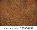 grunge metal background | Shutterstock . vector #199630439