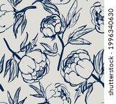 hand drawn vector seamless...   Shutterstock .eps vector #1996340630