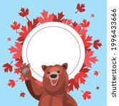 Canada Day Celebration Bear And ...