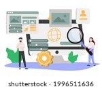 software development.... | Shutterstock .eps vector #1996511636
