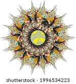 beautiful flower splashes on... | Shutterstock .eps vector #1996534223