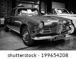 Постер, плакат: Oldtimer BMW 503 convertible