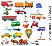 transportation | Shutterstock .eps vector #19966603