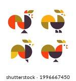 abstract geometrical chicken...   Shutterstock .eps vector #1996667450