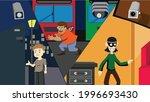 capturing people's activities... | Shutterstock .eps vector #1996693430