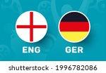 england vs germany match vector ...   Shutterstock .eps vector #1996782086