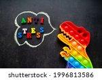Toy Pop It Dinosaur Rainbow...